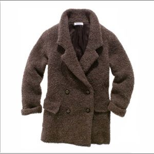 Madewell Wallace Boucle Oversized Coat
